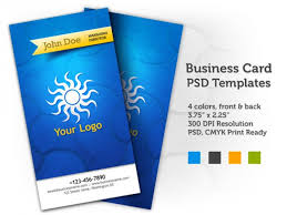 Business Card Design Psd File Free Download Business Card Psd Templates Front U0026 Back Psd File Free Download
