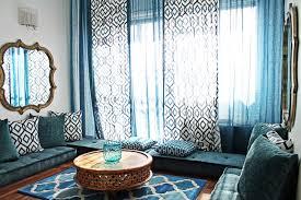 Modern Moroccan Tea Room Mediterranean Family Room Montreal - Modern moroccan interior design