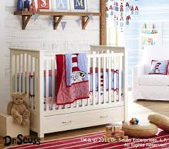 Dr Seuss Crib Bedding Sets Dr Seuss Cat In The Hat Baby Bedding Set Pottery Barn