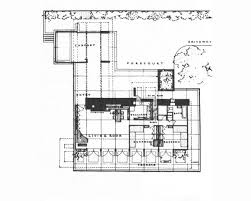 Frank Lloyd Wright Home And Studio Floor Plan Frank Lloyd Wright U0027s Usonian Style George Sturges House To Be Sold