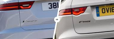 jaguar e pace vs f pace u2013 which suv is best carwow