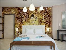 bedroom with brown wallpaper decorating room ideas general 31 elegant wall designs to adorn your bedroom walls ritely