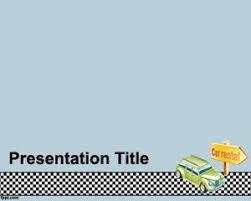 auto rental powerpoint template