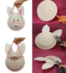 diy paper plates bunny bag paper plates diy paper and bunnies