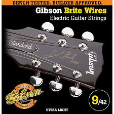 light electric guitar strings gibson g700ul ultra light brite wires electric guitar strings