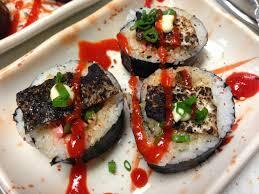 sriracha mayo sushi long beach cal shabu santa monica