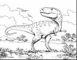 stunning dinosaur coloring pages with dinosaur color pages