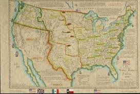 States In United States Map by United States Historical Maps United States Genealogy U0026 History