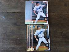 los angeles dodgers ungraded baseball trading cards lot ebay