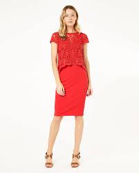 lexus boutique uk lexus lace knit dress coral phase eight