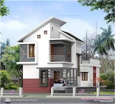 contemporary mix home plan kerala design and floor plans twin