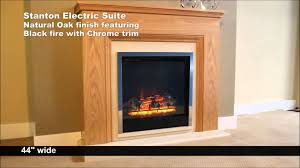 be modern stanton electric fireplace working youtube
