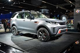 land rover old discovery the land rover discovery svx will scale cliffs like a mountain goat