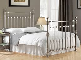 5ft Bed Frame Chrome Squared Metal Bed Frame King 5ft Free Next Day Delivery