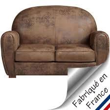 canap convertible aspect cuir vieilli canapé cuir vieilli fashion designs