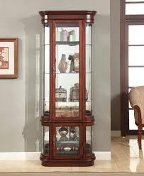 Cherry Wood Curio Cabinet Curio Cabinet Bel Furniture Houston U0026 San Antonio