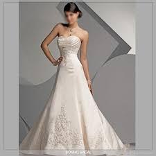 wedding dresses 2009 new embroidered bridal wedding dress 5320 bainuo china