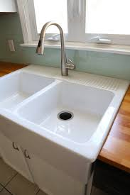 Ikea Kitchen Sinks And Taps by Installing An Ikea Farmhouse Sink U2014 Weekend Craft