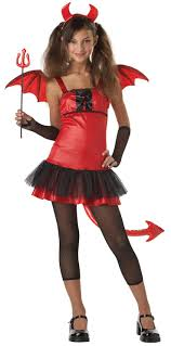 Scary Halloween Costumes Kids Girls 13 Layla Halloween Images Devil Costume