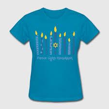 peace light hanukkah t shirt spreadshirt