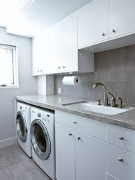 Stainless Bathroom Vanity by Awesome White Bathroom Decoration Two Laundry Room Beside Bathroom