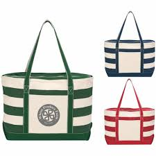 nautical tote promotional cotton canvas nautical totes with custom logo for