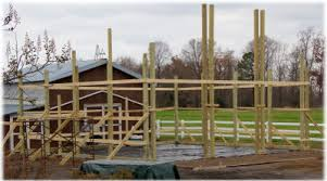 Truss Spacing Pole Barn Setting Your Posts Apb Pole Barns