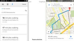 Walking Map App Google Maps For Ios Review Maps Done Right Gizmodo Australia