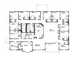 ranch floor plans furniture 088d 0286 floor1 8 cute large ranch house plans 0 large