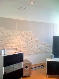 steinwand wohnzimmer mietwohnung steinwand im wohnzimmer abenteuer bau