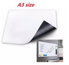 tableau blanc cuisine a3 a4 taille magnétique tableau blanc pour réfrigérateur autocollant