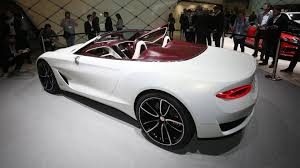 sporty all electric bentley car porsche mission e and bentley exp will share the same ev platform