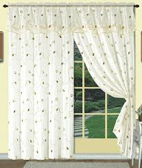 Sheer Curtains With Valance Great Sheer Curtains With Attached Valance Decorating With 40 Best