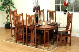 sears dining room sets dining room craftsman dining room table mission tables arts and