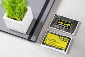 business card template design u2013 u201cblack and yellow u201d u2013 aya templates