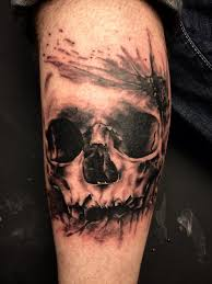 tattoo n 3d 47 best 3d skull tattoos collection