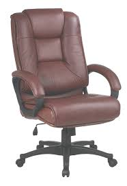 amazon com office star high back executive leather chair with
