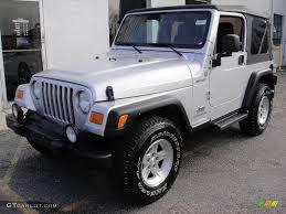 2004 Bright Silver Metallic Jeep Wrangler Sport 4x4 21864619