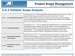 Project Project Management Change Request by Project Scope Management 2011 Long Island Chapter Of The Project
