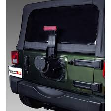all things jeep spare tire carrier spacer for jeep cj and