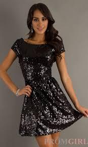 black sequin cocktail dress kzdress