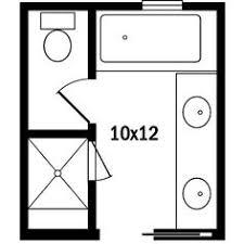 Tiny Bathroom Floor Plans Master Bath Floor Plans Shower Tub Plumbing Fixtures And Toilet