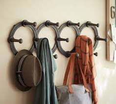 accordion hanging coat rack pottery barn