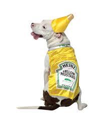halloween dog toys heinz mustard pet costume dog costumes