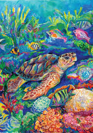 Decorative Flags For The Home Amazon Com Toland Home Garden Loggerhead Turtle 12 5 X 18 Inch