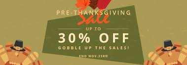 2017 thanksgiving sale