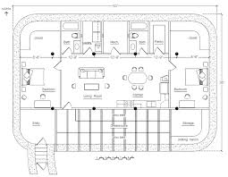 plans for building a house underground earthbag house plans