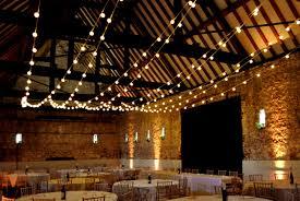 Barn Wedding Venues Berkshire Rustic Wedding Festoon Lights At Monks U0027 Barn Berkshire Festoon