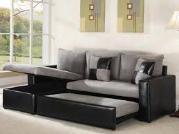 Modern Pull Out Sofa Bed by Good Grey Rectangle Modern Leather Sofa Sectional Stained Design