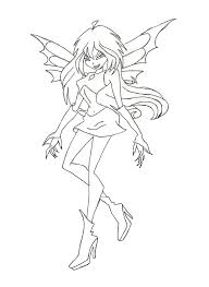 winx dark bloom coloring page by winxmagic237 on deviantart